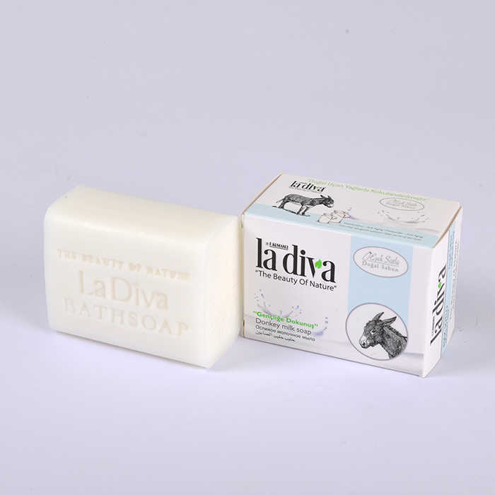 Natural Soap with Donkey Milk 155 Gr.