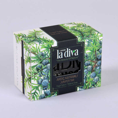 LaDiva Juniper Tar Soap 155 Gr