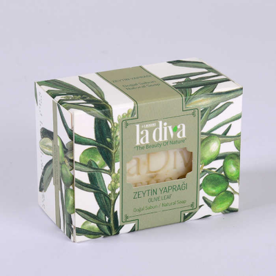 LaDiva Olive Leaf Soap 155 Gr