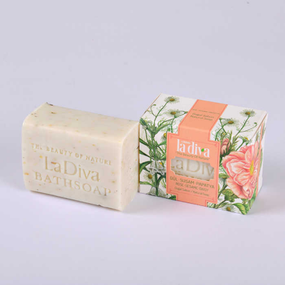 LaDiva Rose Sesame Daisy Soap 155 Gr