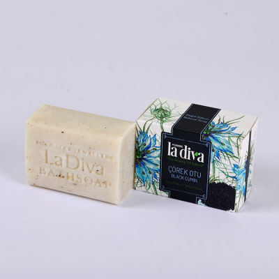 LaDiva Black Cumin Soap 155 Gr.