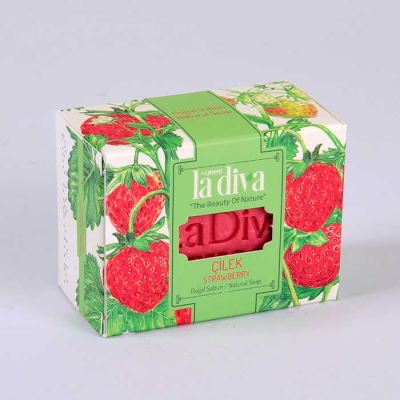 LaDiva Strawberry Soap 155 Gr.