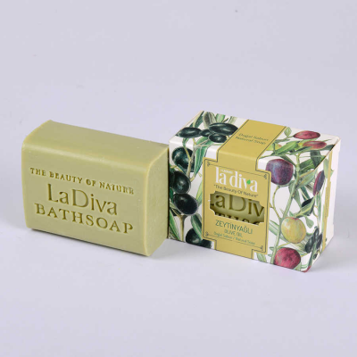 LaDiva Olive Oil Soap 155 Gr.