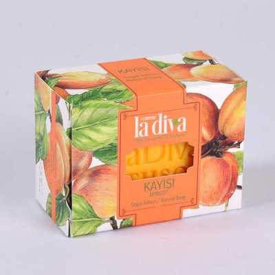 LaDiva Apricot Soap 155 Gr