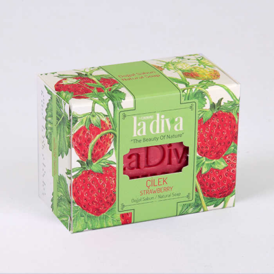 LaDiva Strawberry Soap 120 Gr.