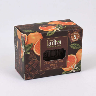 Ladiva Chocolate Orange Soap 120 Gr.