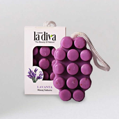 Lavender Massage Soap 120 Gr.