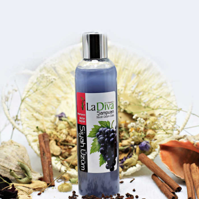 LaDiva Black Grape Shampoo 250ml.