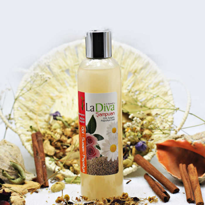 LaDiva Rose Sesame Daisy Shampoo 250ml.