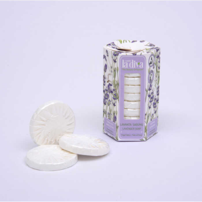 Open-Wash Package Single Soaps Series Lavender 10x15 Grams